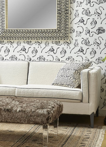 Interior upholstery